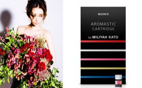 挑戦、無垢、恍惚……加藤ミリヤの世界観を5つの香りで表現したソニー「AROMASTIC」限定カートリッジ