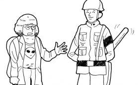 【試験に出ないムー英会話】 Lesson2 異星人との遭遇「友人が異星人に誘拐されたので、警察と軍隊を呼んでください」