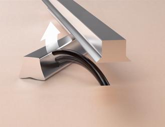 ↑長い寝たヒゲを捉えやすい「パワークイックスリット刃」イメージ