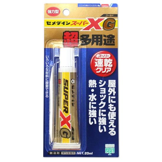 ↑セメダイン「スーパーXゴールド」20ml/680円