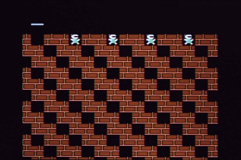 ↑47面はレンガと穴が斜めにズラッと並ぶ、見た目にインパクトのある面。といっても、攻略方法は作業的でそれほど難しくない