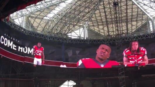 アトランタの超豪華スタジアムが完成間近!「360度スクリーン」がやっぱりスゴイぞ