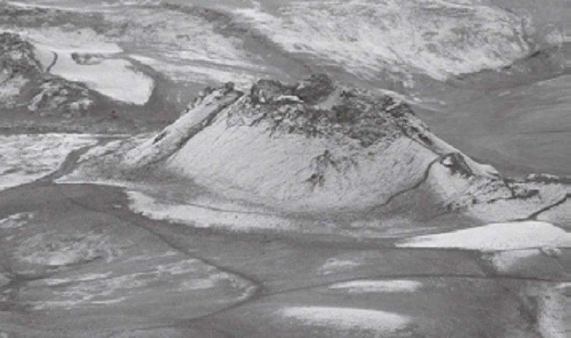 1783 年に大噴火を起こしたアイスランドのラキ火山。