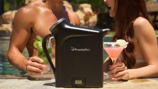 わずか30秒で飲み物が冷える! 冷蔵庫に入れて待たなくてもいいアイテムに「素晴らしい」と絶賛の声