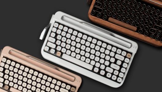 レトロなのに実用的! 強烈な「タイプライター風キーボード」に初見でヤラれる人続出