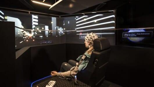 人間が本当にリラックスできる車内環境は? アウディが「ロボットカー」で研究