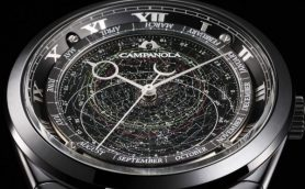 漆黒の文字盤に満点の星が煌めくロマン――知的好奇心をくすぐる「カンパノラ」世界限定モデル