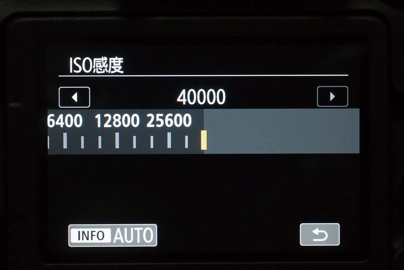 ↑新開発CMOSセンサーとDIGIC7の新ノイズ低減処理で、常用最高ISO感度40000を実現。夜景や室内スポーツなどで恩恵を実感できる