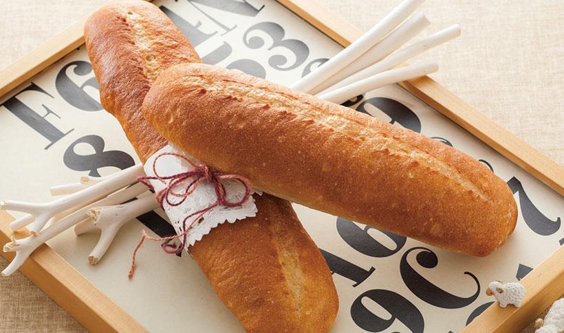 ↑フランスパンが作れる「ハード生地」メニューなどを追加