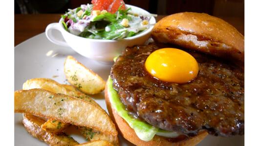 テリヤキ×月見×焼肉の三重奏! フレンチ仕込みの本格バーガーが味わえる曳舟「burger house UZU」