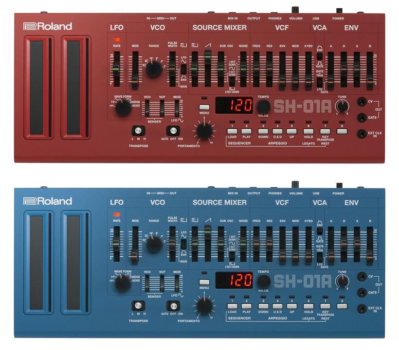 ↑SH-01A レッドとブルー