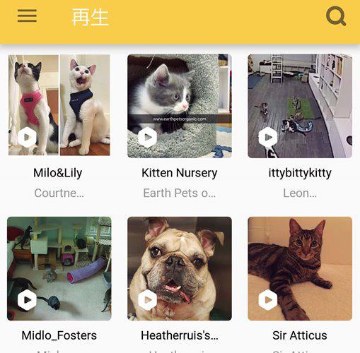 ↑「アプリでは、別のお宅のモニタリング映像を閲覧可能。彼らともレーザーで遊べます」