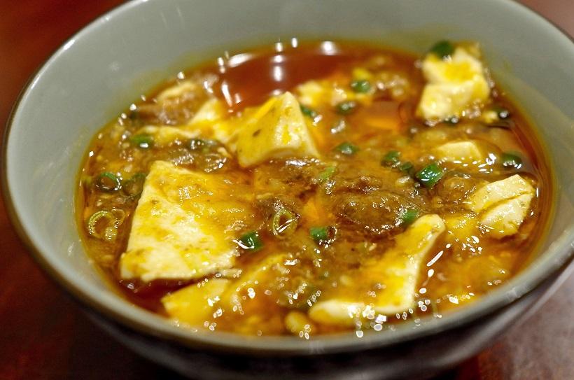 ↑麻婆豆腐