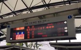 夏の甲子園開幕! 甲子園駅の列車接近メロディも期間限定でこんな感じに