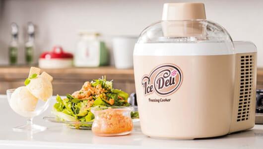 ごはんに合う「さばのジェラート」も簡単! アイスやフローズン惣菜が手間なく作れる「アイスデリ プラス」を使ってみた