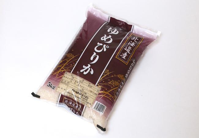 ↑私がコストコで買うお米はその時の気分で選ぶのですが、なかでも「ゆめぴりか」が一番気に入っています。