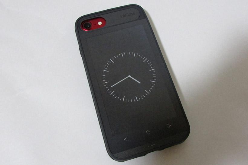 ↑シンプルな時計ウィジェットも用意されている