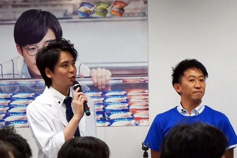 ↑MOW開発担当の齋藤さん(左)とマーケティング担当の蓮沼さん(右)