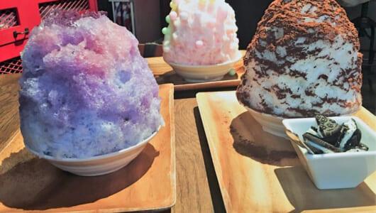 まだまだ間に合う夏の味! おすすめかき氷の店6選&フワフワかき氷器セレクション