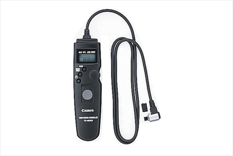 ↑インターバルやタイムラプス撮影機能が付いているカメラなら普通のレリーズOK。ない場合は、インターバルタイマー付きを使う