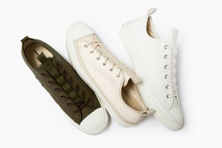 ↑ROCHESTER LO BS/1万4904円 カラー:White、Ivory、Olive サイズ:23~29㎝(1㎝刻み) MADE IN JAPAN