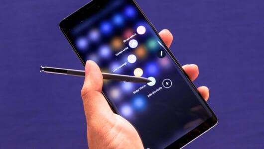 文房具を一蹴するレベル! ペンを超越した魔法の杖、新「Galaxy Note8」のS Penでできること