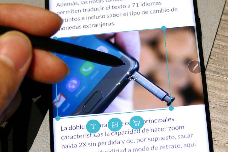 ↑Bixby VisionをS Penで使える。ただし、検索できる対象はまだまだ限られている印象