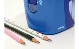 不思議アクションに釘付け! 削り終わった鉛筆が自動排出される「トガリターン」を使ってみた