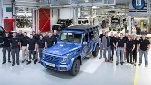 SUV界のレジェンドが30万台を生産――メルセデス・ベンツGクラスが新たな節目に