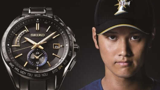 これは完売必至! セイコー ブライツが日ハム・大谷翔平イメージモデルを1100本限定で発売