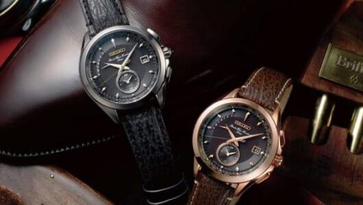 靴×腕時計の異色コラボ! 靴磨きで世界を極めたシューシャイナーがプロデュースするセイコーブライツ限定モデル