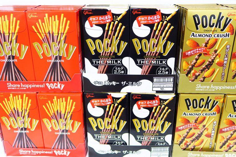↑ポッキー<THE MILK>の発売は9月5日で、市場想定低価格は162円