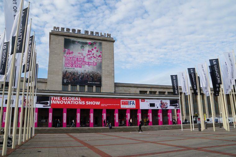 ↑ドイツ・ベルリンで毎年開催されるエレクトロニクスショー「IFA」が今年も幕を開けた