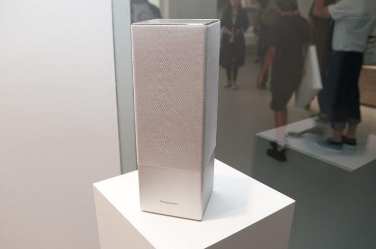 ↑パナソニックもGoogle Assistant搭載のスマートスピーカー「SC-GA10」を発表