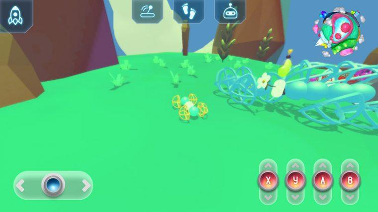 ↑ほかのプレイヤーのモビルモもフィールドにいます。見つけたらタップしてみましょう