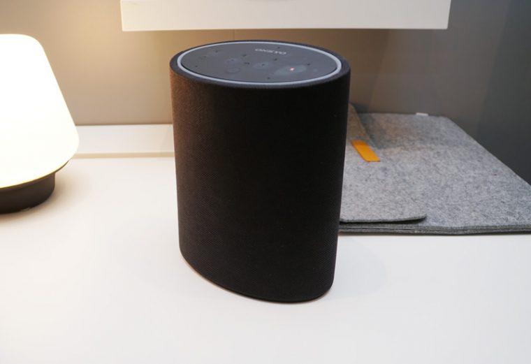 ↑オンキヨーはAmazon Alexa搭載の「P3」も発表