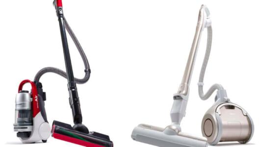 【掃除機タイマン対決】今度の「コードレスキャニスター」昔とはぜんぜん違う! 話題の2機種を家電ライターがチェック