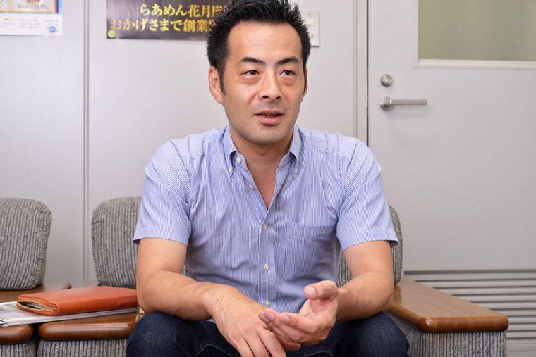 ↑運営元であるグロービート・ジャパンの鈴木 力さん。企画広報部の課長です