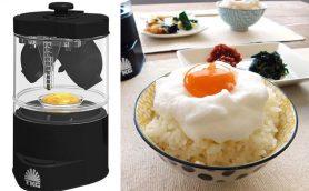 「究極のTKG」とは大きく出たな! 「割り」から「分離」「泡立て」まで1台でできる卵かけごはん専用マシン