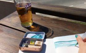 コレは「趣味:水彩画」にしたくなる画期的アイテム! 「The Sketching Tin」は絵を描く愉しさを広げる