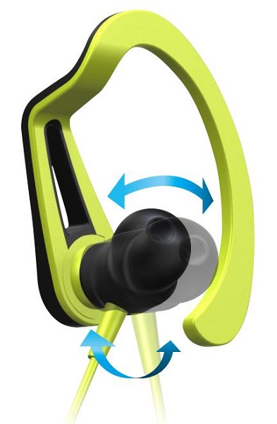 ↑特許技術「3D Active Fit」により動きに合わせて