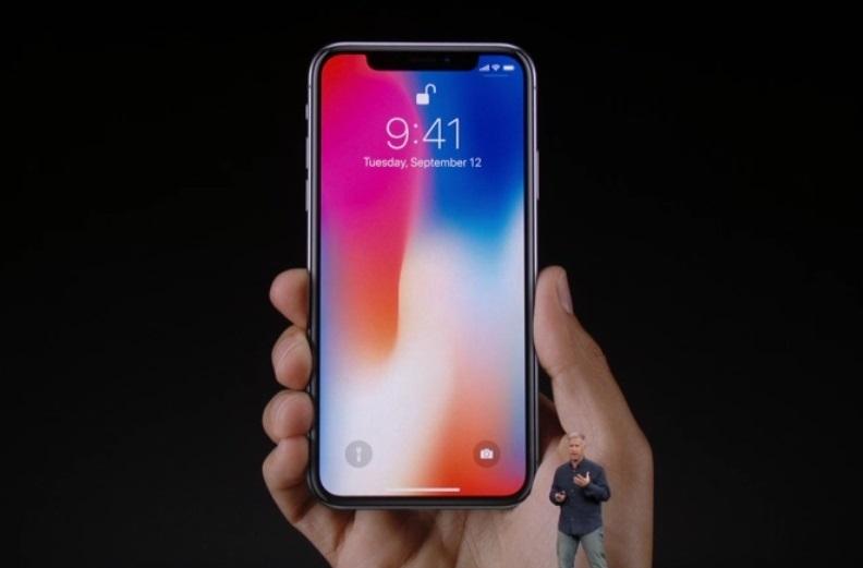 ↑iPhone X