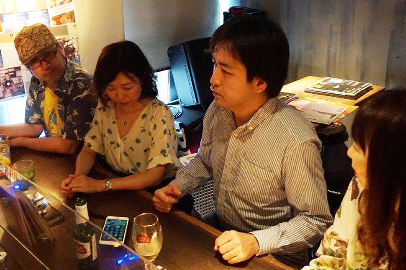 ↑左からガジェットライター武者良太(記事担当)、テレビ業界ジャーナリストの長谷川朋子さん、IT・家電ジャーナリストの安蔵靖志さん、ITライターの鈴木朋子さん
