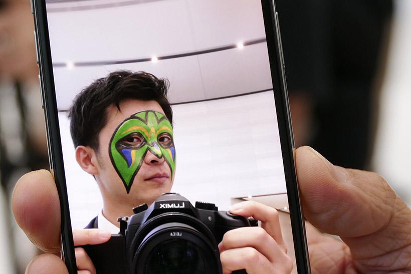 ↑SnapChatの画面イメージ