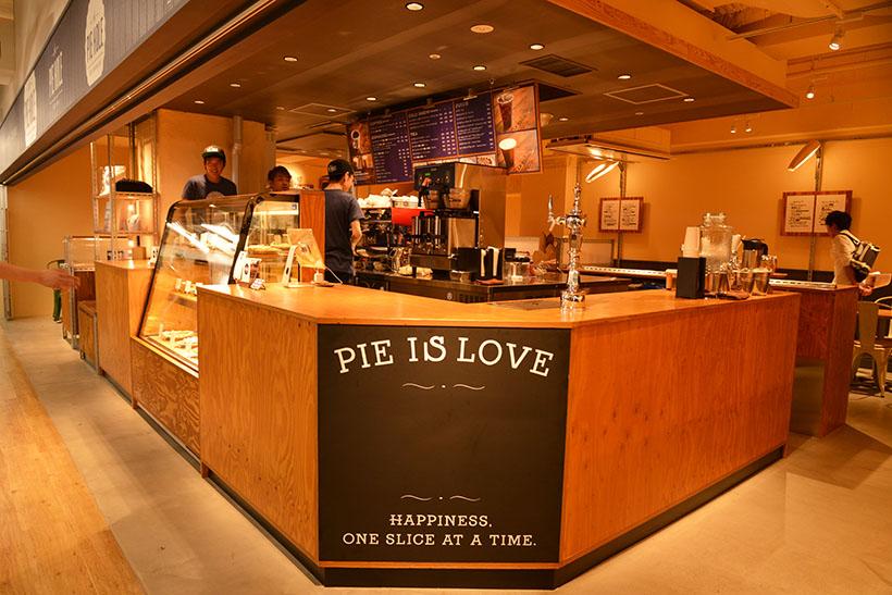 ↑焼きたてのパイとオーガニックコーヒーを気軽に楽しむことができる、ロサンゼルスの人気No.1カフェが日本に上陸