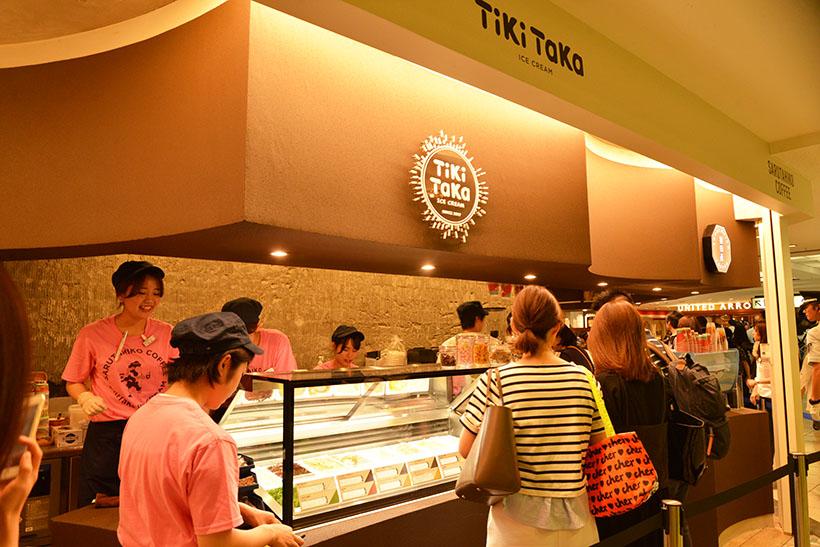 ↑お店は今年の8月29日、ルミネ新宿 LUMINE1にオープンしました