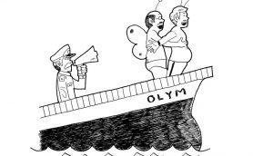 【ムーのオカルト英会話】Lesson10 滅亡「巨大生物に襲われたため、この船は間もなく沈没します」