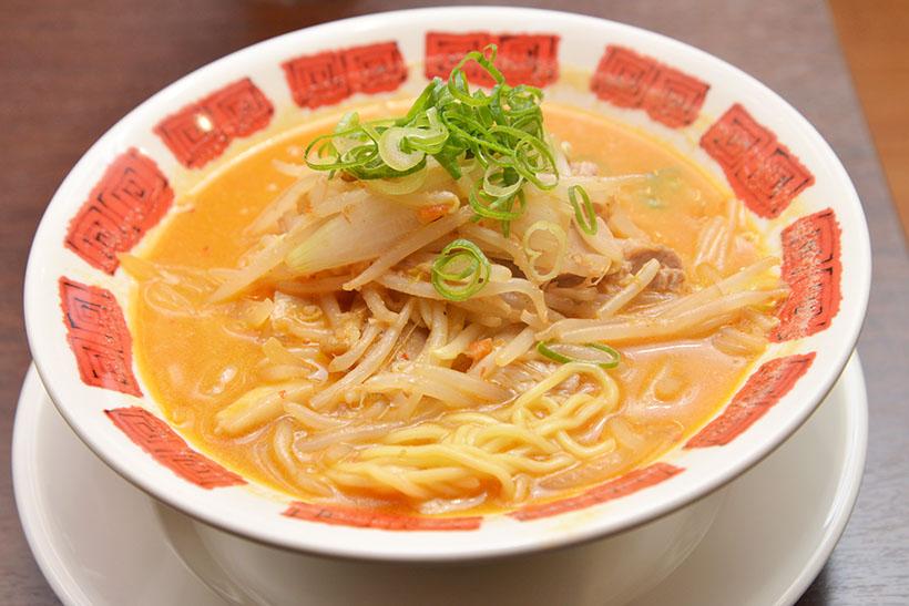 ↑札幌味噌ラーメン(749円)