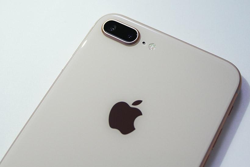 ↑iPhone 8 Plusのカメラは「ポートレイト」モードおよび「ポートレイトライティング」に対応