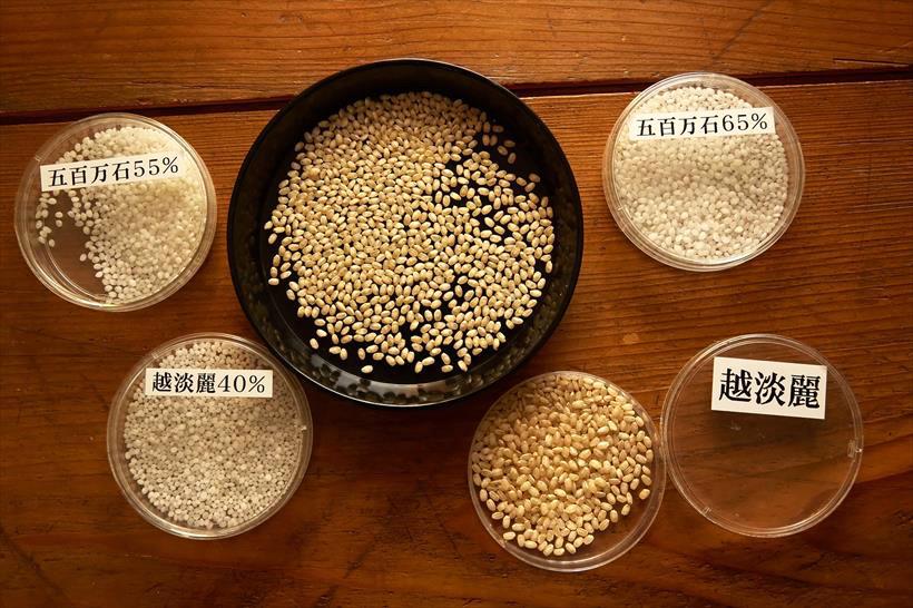 ↑同社で使用しているお米。